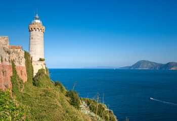 Lighthouse. Portoferraio. Isle of Elba.