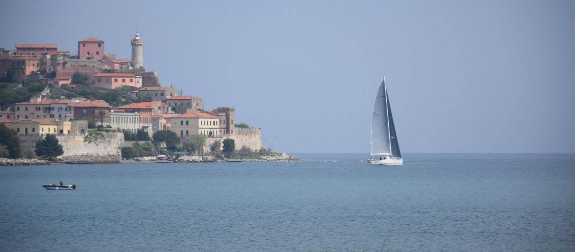 Isola d'Elba. Il Cammino della Rada