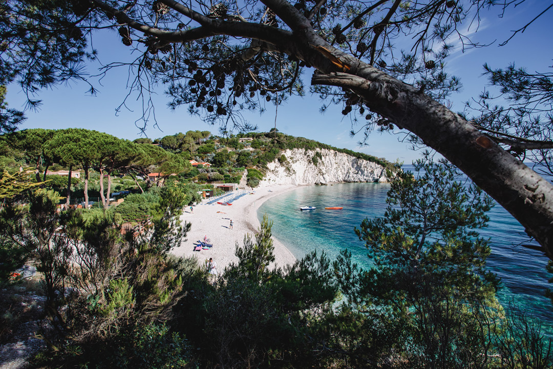 Discovering Portoferraio beaches and thermae